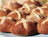 Crossbuns - Engelse paasbroodjes