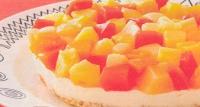 Exotische fruittaart