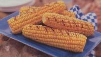 Geroosterde maïs met pestoboter