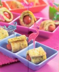 Gevulde omeletrolletjes