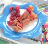 Spiesen met Catalaanse worstjes
